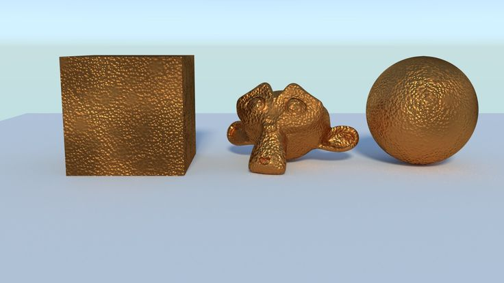 How to make a bronze material in Blender Cycles.