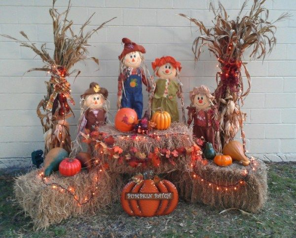 20 Ways To Decorate All Through The House During The Fall Holidays Fall Yard Decor Fall Thanksgiving Decor Fall Outdoor Decor