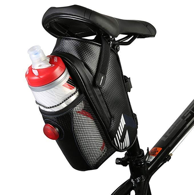 Vertast Bicycle Waterproof Saddle Bag Bike Water Bottle Holder Mtb