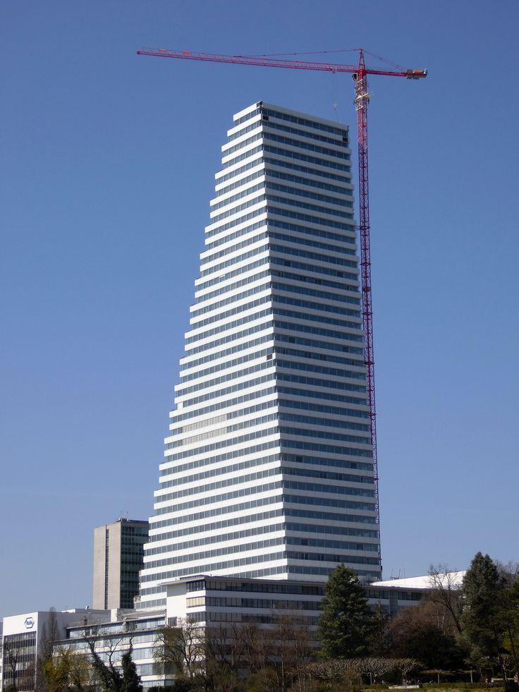 Der WOLFF 7532.16 war mit 204 Metern Hakenhöhe der höchste Baukran der Schweiz.