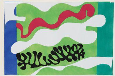 Le Lagon (XVIII), 1947, by Henri Matisse