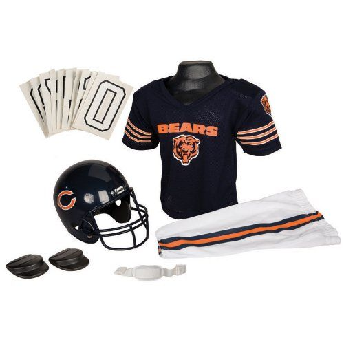 Franklin Sports NFL Chicago Bears Youth Team Uniform Set, Medium (Ages 7 to 9)