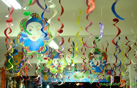 Decoração para o carnaval - http://www.dicasdecoracao.com/decoracao-para-o-carnaval/