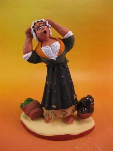 Affaire du puitsalerté par les cris de Mme Blaise, venue recharger ses cruches d'eau !