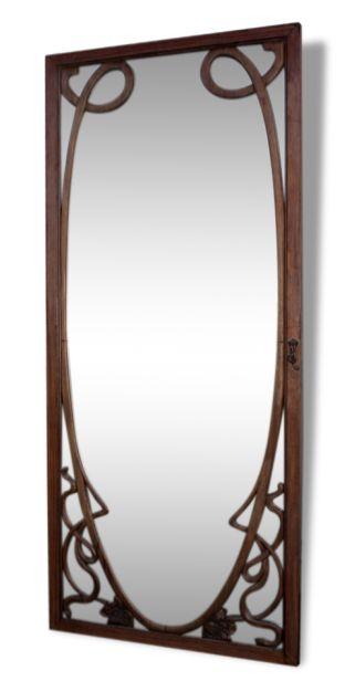 porte avec miroir 1900 art nouveau interieurs. Black Bedroom Furniture Sets. Home Design Ideas