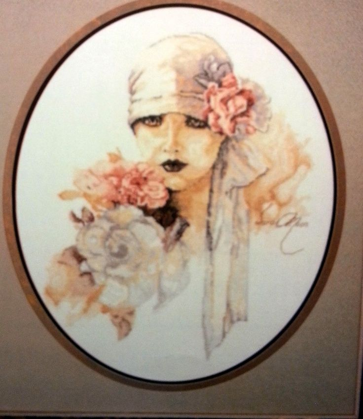 The Bride - Sara Moon Counted Cross Stitch Pattern. $5.00, via Etsy.