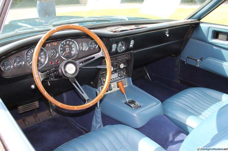 1969 Aston Martin DBS. As seen at the 2015 Texas All British Cars Day show.