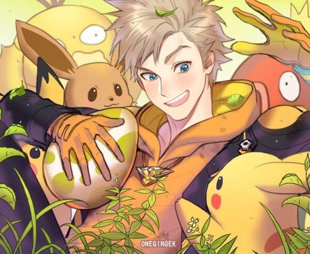 Una ligera obsesión por este estúpido y sensual tipo  #TeamInstinct #Spark #PokemonGO