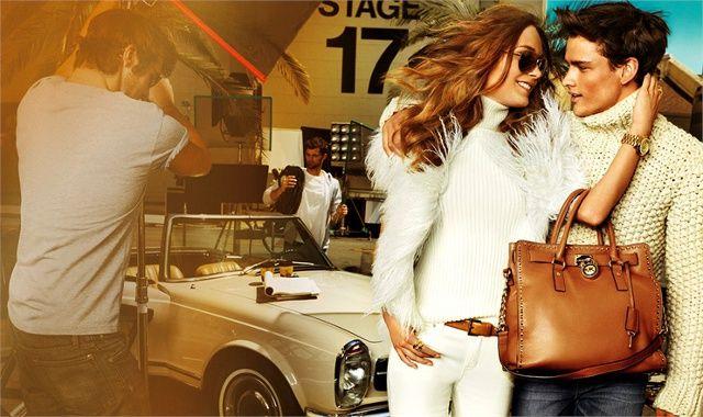 Michael Kors adv A/I 12-13: Hollywood e jet set internazionale - Leggi l'articolo!