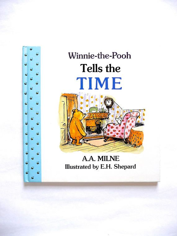 Winnie-the-Pooh Tells The Time Inspired by A.A. Milne