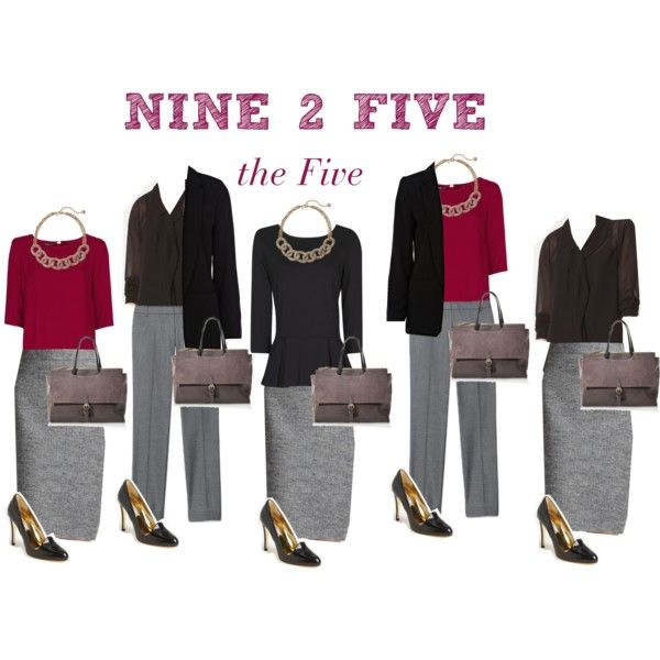 Nine 2 Five - the Five by boardroombelles on Polyvore featuring мода, MANGO, Massimo Dutti, River Island, LOFT and Ted Baker