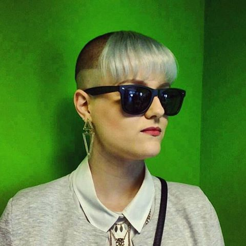 WEBSTA @ buzzcutfeed - Only Way Is Chelsea Cut Thanks @mrs_dientjee #UCFeed #ShavedHead #ChelseaCut #ChelseaHaircut#ShavedNape #SideShaves #Bangs #Fringe #SkinHead