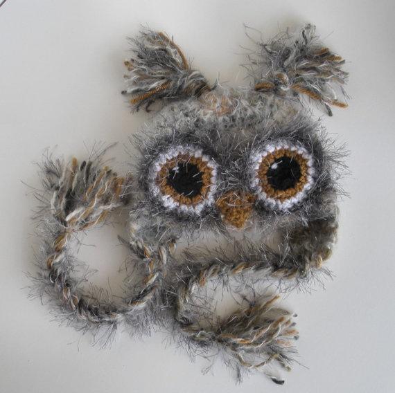 Newborn Baby Crochet Owl Hat  Photo by CherryCreekCrochet. this hat is so cute...