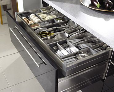 Drawer Dividers Keep Items In Their Place Tidy And Reduce Clutter On The  Work Surface.