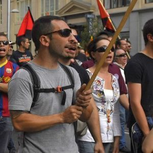 Thousands of people demonstrate against austerity in Madrid