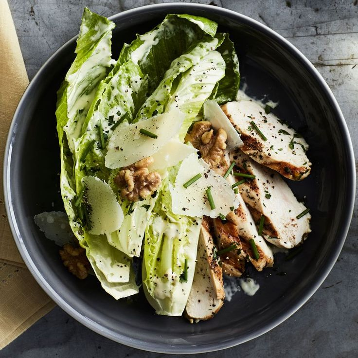 Chicken Caesar with Creamy Lemon Vinaigrette | Williams-Sonoma