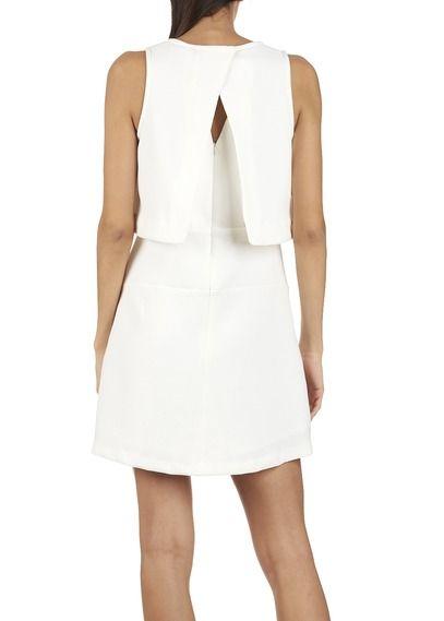 Robe combinée Blanc by SUNCOO