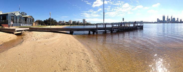 Panorama of The Boatshed Restaurant in Perth, WA, on South Perth Foreshore. #restaurant #perth #spectacular #sunshine www.boatshedrestaurant.com