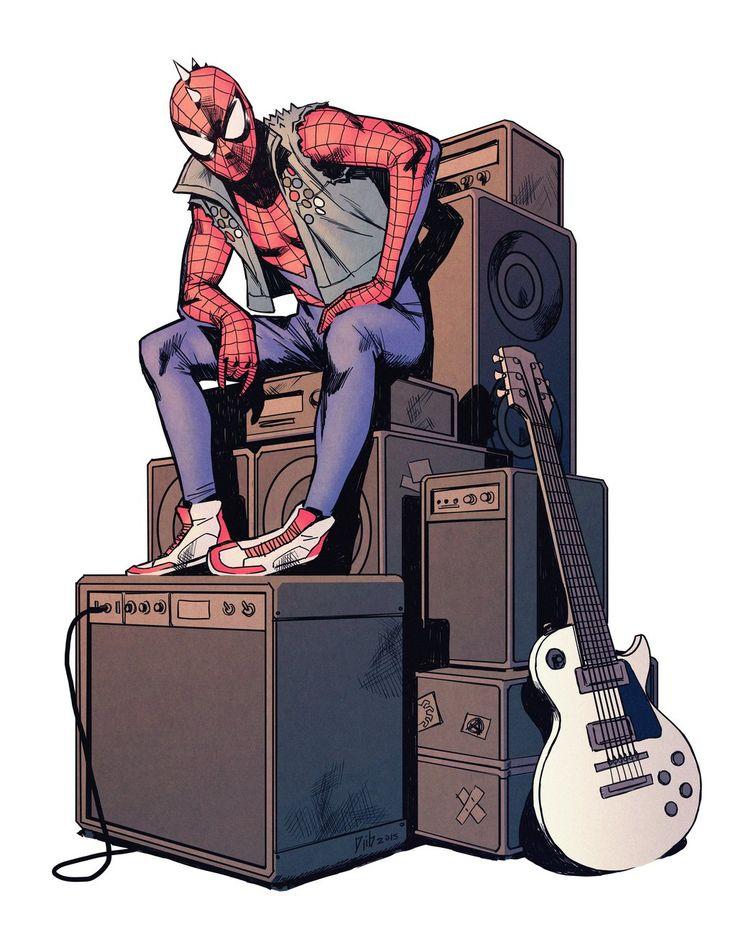 Spider-Punk - Djibril Morissette-Phan