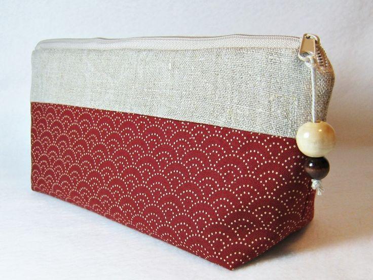 Täschchen Stiftemäppchen Federtasche von ullamara auf DaWanda.com