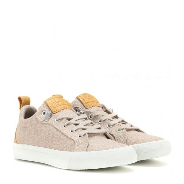 Converse All Star Fulton OX Sneakers (120 CAD) ❤ liked on Polyvore featuring shoes, sneakers, beige, converse sneakers, star sneakers, converse trainers, beige shoes and star shoes