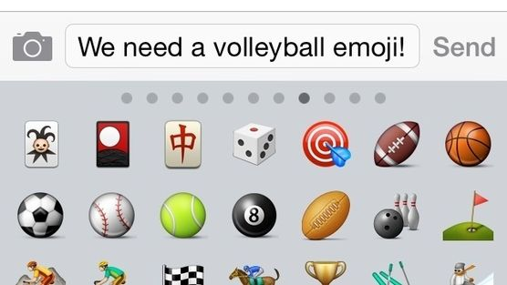 I'm petitioning Apple to get a volleyball emoji! Please sign, spread the word and repin to your most popular boards!