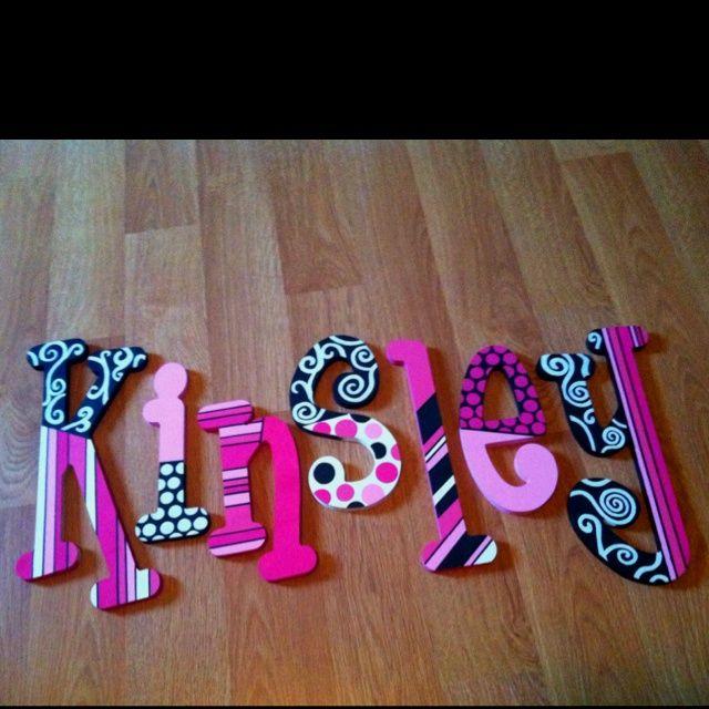 7 besten holzbuchstaben bilder auf pinterest handarbeit for Holzbuchstaben babyzimmer