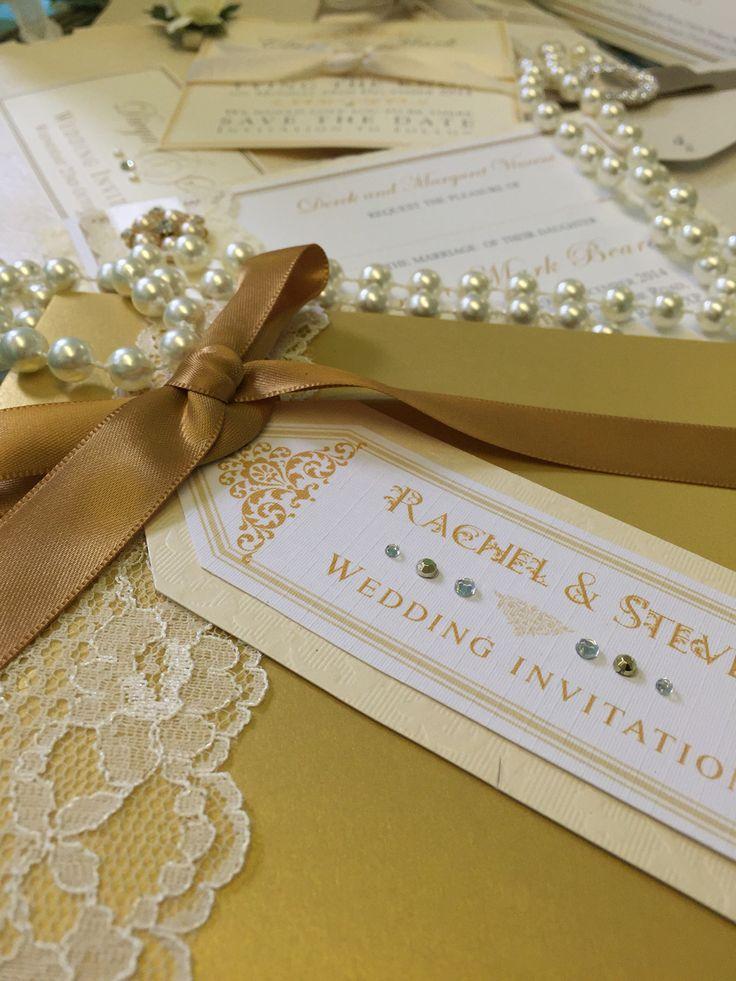 10 best Vintage bespoke wedding invitations & luxury handmade ...