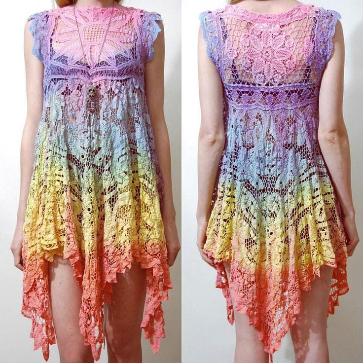 126 best Häkelkleidung images on Pinterest | Crochet clothes ...