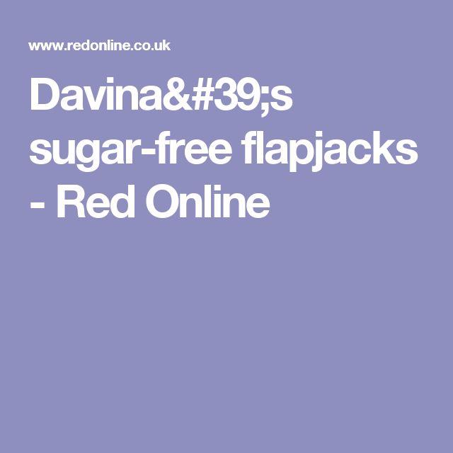 Davina's sugar-free flapjacks - Red Online
