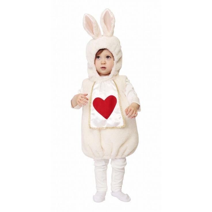 マシュマロラパン Baby  [うさぎ コスプレ バニー 衣装 赤ちゃん用 子供 ウサギ コスチューム ハロウィン 仮装]【871880】 p-kaneko 02