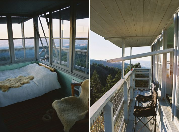 Book a stay at Fall Mountain Lookout Tower - Oregon