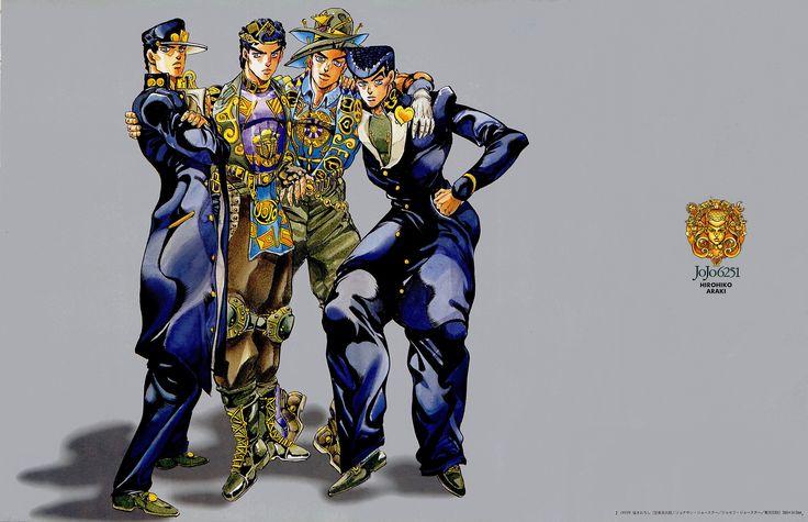 2916_-_higashikata_josuke_jojo's_bizarre_adventure_jonathon_joestar_josepth_joestar_kujo_jotaro_wallpaper.jpg (2479×1600)