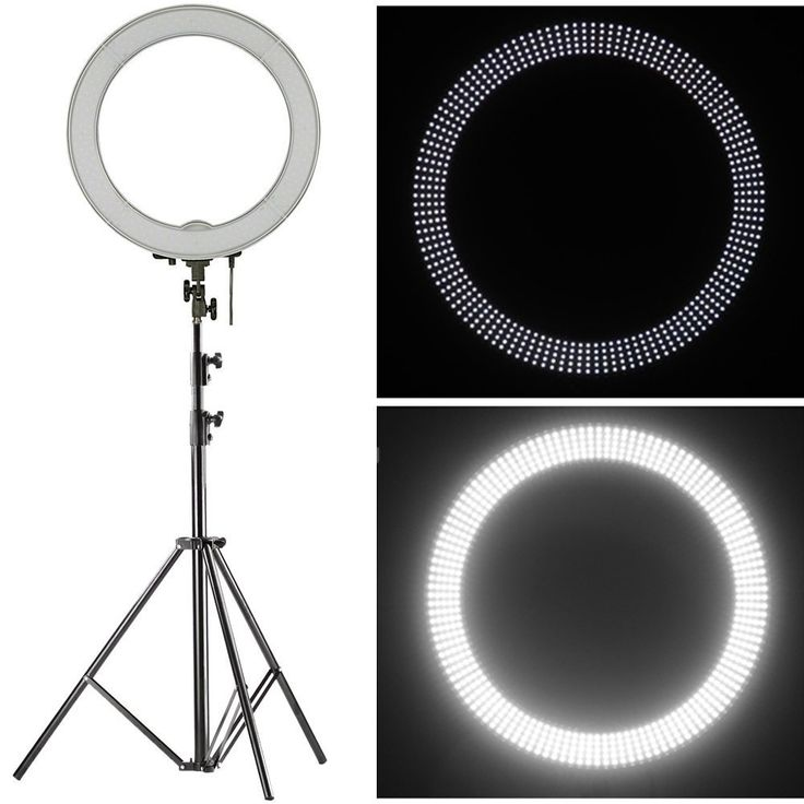 "Amazon.com : Neewer 18"" LED Ring Light Dimmable for Camera Photo Video, Make Up, Youtube, Portrait and Photography Lighting, Includes(1)Ring Light+(1)9 Feet Heavy Duty Light Stand+(1) Soft & Orange Filter Set : Camera & Photo 