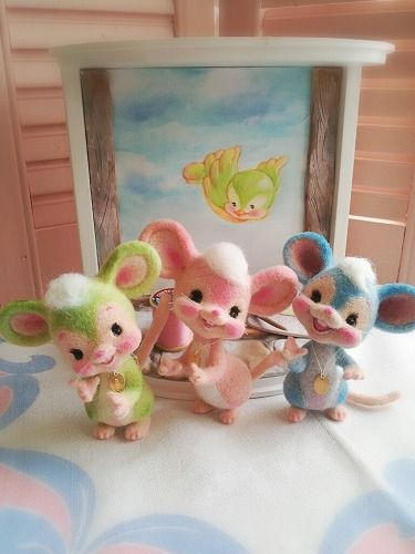 【ribo】 3 Little Mouses