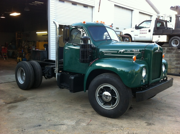 The Project Truck Mack B61 Trucks Pinterest Trucks