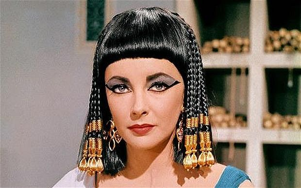 """""""Cleopatra"""" was the highest-grossing film of 1963. It was a critical failure but won four Academy Awards."""