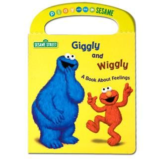 Giggly & Wiggly Elmo Book About Feelings