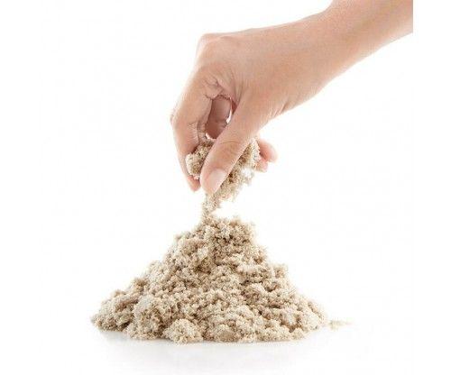 Kinetikus vagy mozgó homok - lakásban is használható! Szétesik, mállik, olvad, miközben könnyen formázható!