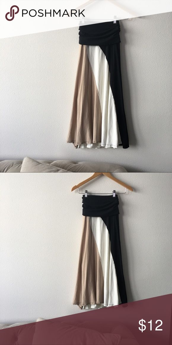 INC Maxi Skirt 3-color neutral stretchy maxi skirt from Macy's INC International Concepts Skirts Maxi