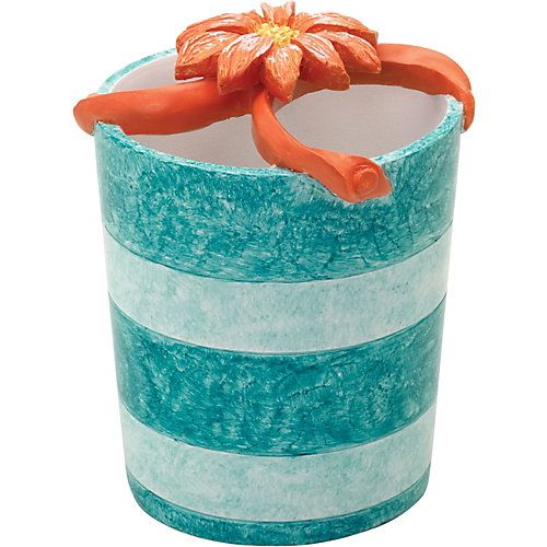 India Ink home accessories bring classic style and traditional aesthetics to your home. This toothbrush holder adds cheerful coastal charm to your home with its flip-flop design. Measures 4''W x 4''L x 5''H.