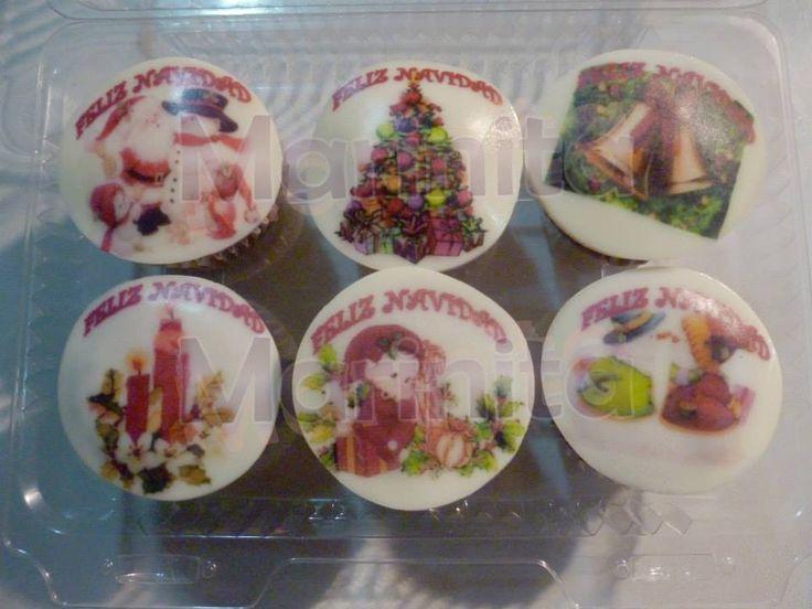 Cupcakes Navidad!!!
