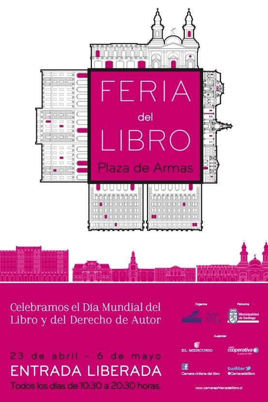 Santiago Plaza de Armas Book Fair 2012 Image Design