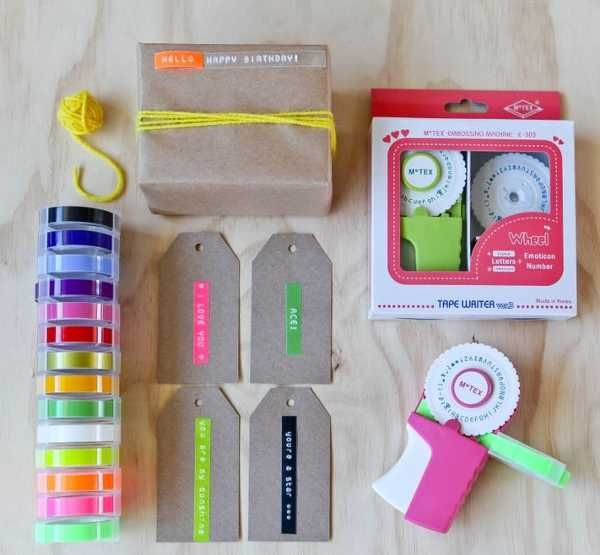 Let little ones make their mark with the MoTex label maker