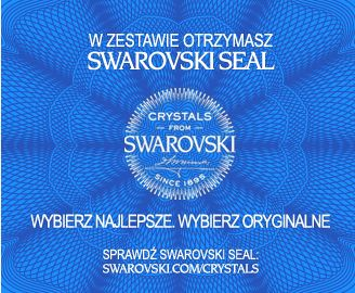 Wybierz oryginalność! Z biżuterią Arande otrzymasz certyfikat autentyczności oraz pieczęć Swarovski Seal - najnowsze zabezpieczenie firmy Swarovski z unikatowym numerem, którego autentyczność można sprawdzić na stronie www.swarovski.com/crystals. Zobaczcie więcej: http://arande.pl/store/certyfikat.html