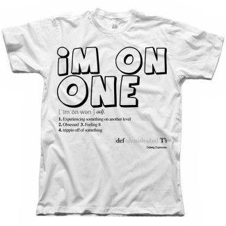 "Men's ""IM ON ONE"" Summer T-Shirt"