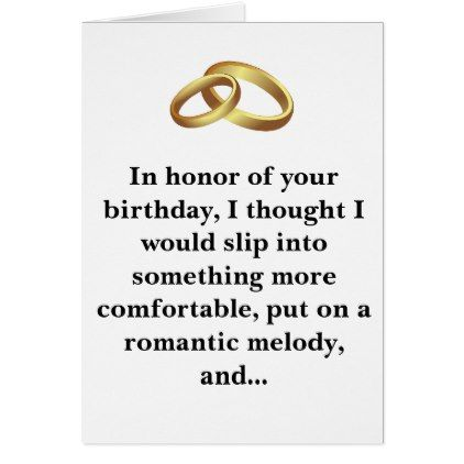 Funny Birthday Card Husband or Wife - birthday cards invitations party diy personalize customize celebration