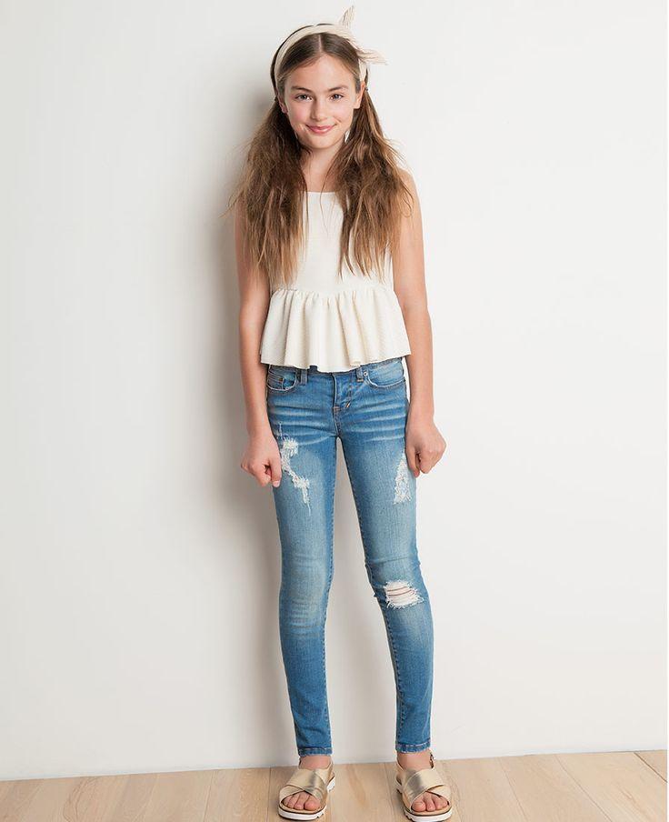 Girl's Frill Knit Cami - Bardot Junior