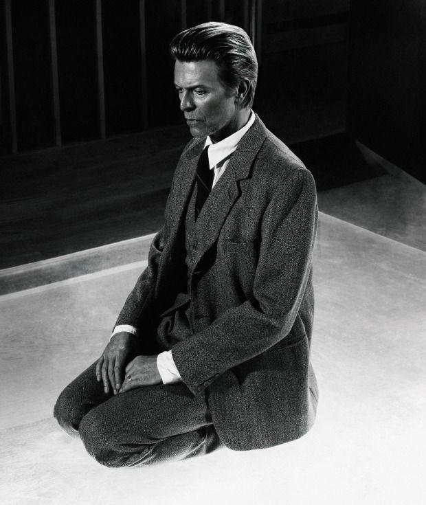 """""""Lui era altrettanto carismatica e straordinaria, come si può immaginare,"""" dice il fotografo Markus Klinko di David Bowie, ..."""
