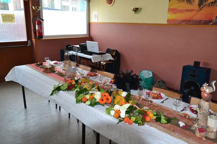 la table dhonneur réalisé par ma merveilleuse cousine, qui a fait ...